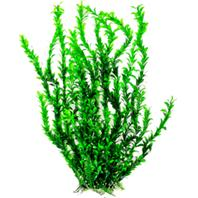 Aquatop Aquatic Supplies - Bushy Aquarium Plant With Weighted Base - Green - 26 Inch