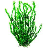 Aquatop Aquatic Supplies - Bushy Aquarium Plant With Weighted Base - Green - 26 Inch