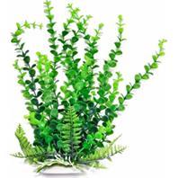 Aquatop Aquatic Supplies - Elodea Aquarium Plant With Weighted Base - Green - 9 Inch