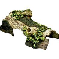 Blue Ribbon Pet Products - Exotic Environments Bent Log Hide-Away - Small
