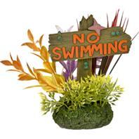 Blue Ribbon Pet Products - Exotic Environments No Fishing Sign - Large
