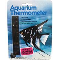 Lcr Hallcrest - Liquid Crystal Vertical Aquarium Thermometer - Medium