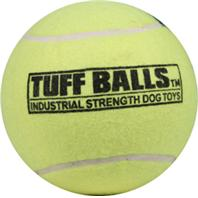Petsport - Mega Tuff Ball Dog Toy - Yellow - 6 Inch
