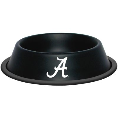 DoggieNation-College - Alabama Dog Bowl-Stainless - One-Size