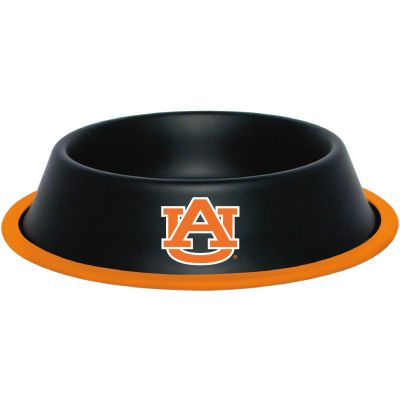 DoggieNation-College - Auburn Dog Bowl-Stainless - One-Size