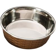Ethical Dishes - Soho Basketweave Dish - Copper - 30 oz