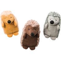 Ethical Dog - Plush Corduroy Hedgehog - Assorted - 8 Inch