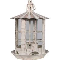 Heath - Parkview Lantern Feeder - Antique White - 7.13X7.13X10.75
