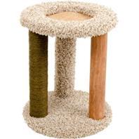 Ware Mfg - Kitty Carpet Playground-N-Lounge - Natural - 16X16X20 Inch