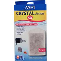 Mars Fishcare North Amer -  Crystal Bio-Chem Zorb Filter Replacement Cartridge - Size 50 / 3 Pack