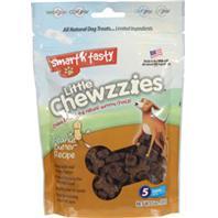 Emerald Pet Products - Smart N Tasty Little Chewzzies Dog Treats - Peanut Butter - 5 oz