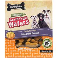 Three Dog Bakery - Grain Free Wafers - Pumpkin - 13 oz