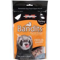 Marshall Pet  - Bandits Freeze Dried Ferret Treats - Turkey - .75 oz