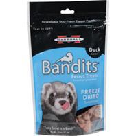 Marshall Pet  - Bandits Freeze Dried Ferret Treats - Duck - .75 oz
