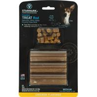 Starmark - Treat Rod Refill For Treat Crunching Toys - Chicken - Medium