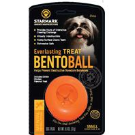Starmark - Everlasting Bento Ball - Orange - Small