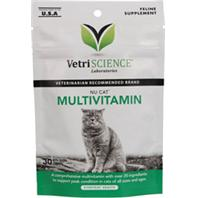 Pet Naturals Of Vermont - Nucat Multivitamin - Fish - 1.32oz/30 Ct