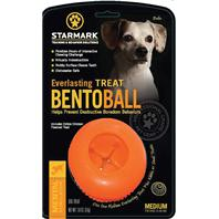 Starmark - Everlasting Bento Ball - Orange - Medium