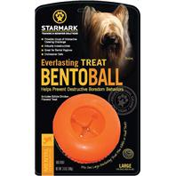 Starmark - Everlasting Bento Ball - Orange - Large