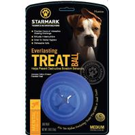 Starmark - Everlasting Treat Ball - Blue - Medium/1 Pack