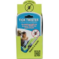 Durvet/Pet - Tick Twister Blister Pack Display - Green - 9 Piece
