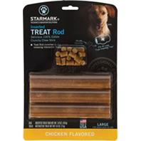Starmark - Treat Rod Refill For Treat Crunching Toys - Chicken - Large