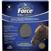 Manna Pro - Opti-Force Equine Fly Mask With Insect Shield - Extra Large