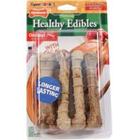 Nylabone - Healthy Edibles Combo Turkey & Apple 4Pk - Regular