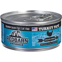 Redbarn Pet Products - Redbarn Naturals Pate Cat Can - Turkey - 5.5 oz