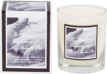 Aroma Paws - Sayings Candles - Paw In Hand/ Black - 8 oz