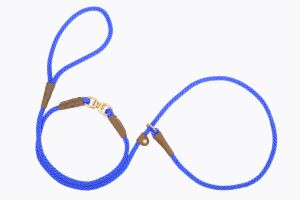 Mendota Pet - Small Swivel Slip Lead - Blue - 3/8 Inch x 6 Feet