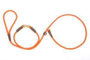 Mendota Pet - Small Swivel Slip Lead - Orange - 3/8 Inch x 6 Feet