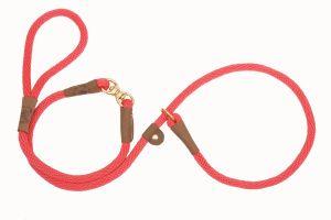 Mendota Pet - Swivel Slip Lead - Red - 1/2 Inch x 6 Feet