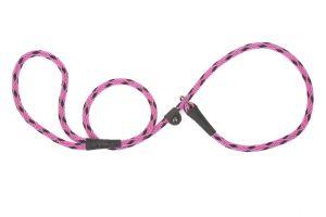 Mendota Pet - Black Ice Small Slip Lead - 3/8 Inch x 6 Feet - Raspberry