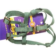 Hamilton Pet - Adjustable Easy On Dog Harness - Dark Green - Extra Small