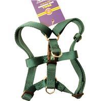 Hamilton Pet - Adjustable Easy On Dog Harness - Dark Green - Small