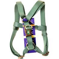 Hamilton Pet - Adjustable Easy On Dog Harness - Dark Green - Medium