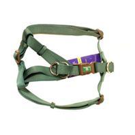 Hamilton Pet - Adjustable Easy On Dog Harness - Dark Green - Large