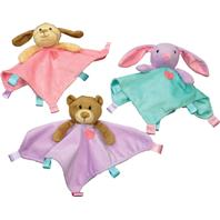 Ethical Dog - Soothers Blanket Toys - Assorted - 10 Inch