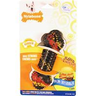 Nylabone - Flavor Frenzy Double Action Chew - Bacon Cheesebur - Regular