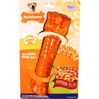 Nylabone - Flavor Frenzy Dura Chew Textured Dog Chew - Pepperoni Pizza - Souper
