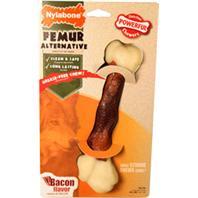 Nylabone - Dura Chew Animal Part Alternative Femur - Bacon - Large