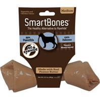 Petmatrix - Smartbone Value Single - Peanut Butter - Medium/24 Piece
