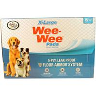 Four Paws - Container - Wee Wee Pads -- Xlarge/75 Pk