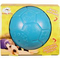 Jolly Pets - Jolly Soccer Ball - Ocean Blue - 6 Inch