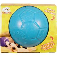 Jolly Pets - Jolly Soccer Ball - Ocean Blue - 8 Inch