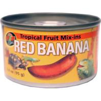 Zoo Med - Tropical Friut Mix-Ins - Red Banana - 3.4 oz