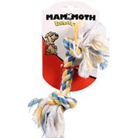 Mammoth Pet Products - Flossy Chews Color Rope Bone Dog Toy - Multicolored - 9 Inch