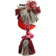 Mammoth Pet Products - Flossy Chews Color Rope Bone Dog Toy - Multicolored - 12 Inch/Medium