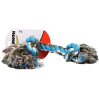 Mammoth Pet Products - Flossy Chews Color Rope Bone Dog Toy - Multicolored - 16 Inch/Xlarge